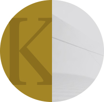Featured page icon letter k