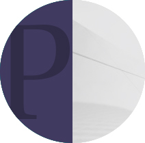 Featured page icon letter p