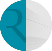 Featured page icon letter r